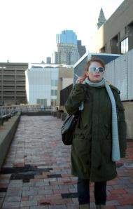 Channeling Garbo in Boston